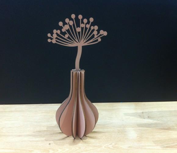 Montage de notre nouveau vase décoratif