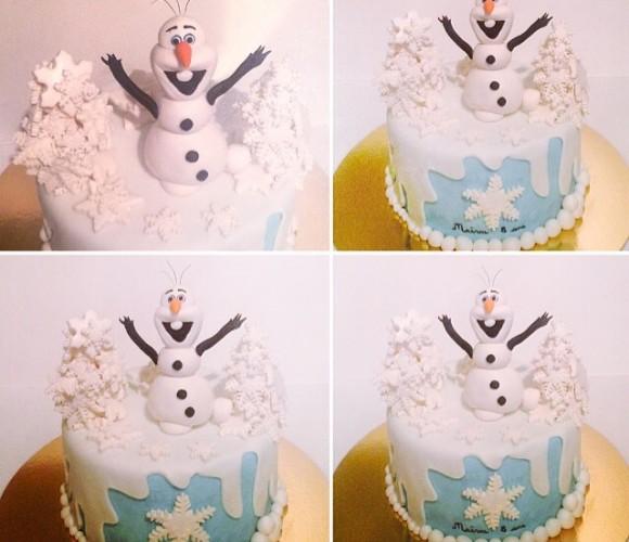 Olaf thème reine des neiges
