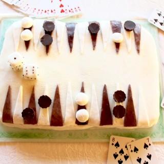 Mon gâteau Backgammon