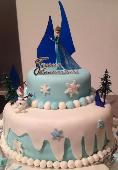 Cake Design Reine Des Neiges Blog Zodio