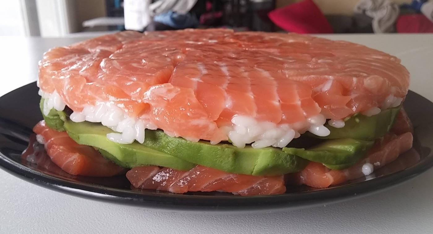 Sushi cake !