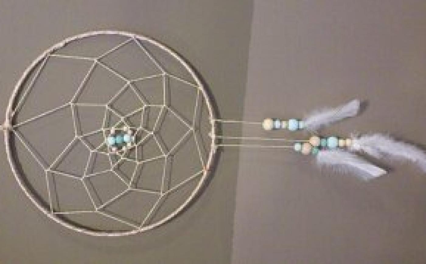 Envie d'une décoration tendance ? Venez réaliser vous même votre propre attrape rêve à l'atelier déco Chambourcy !