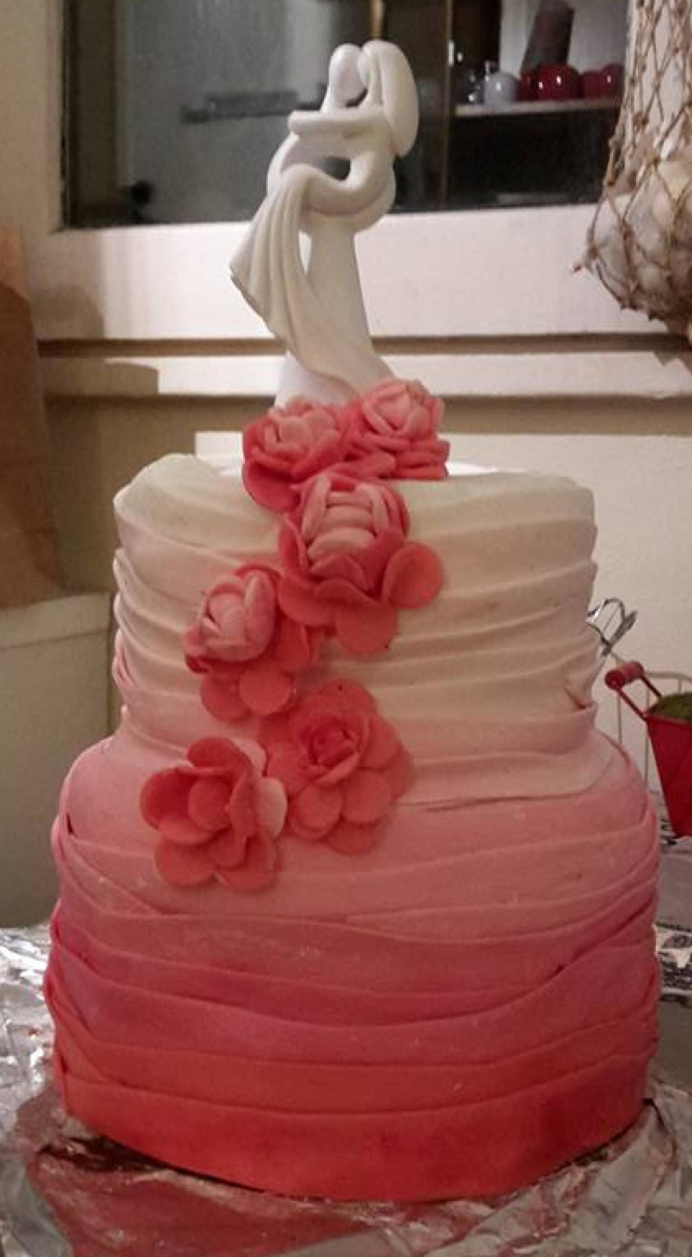 Preparatif de mon wedding cake