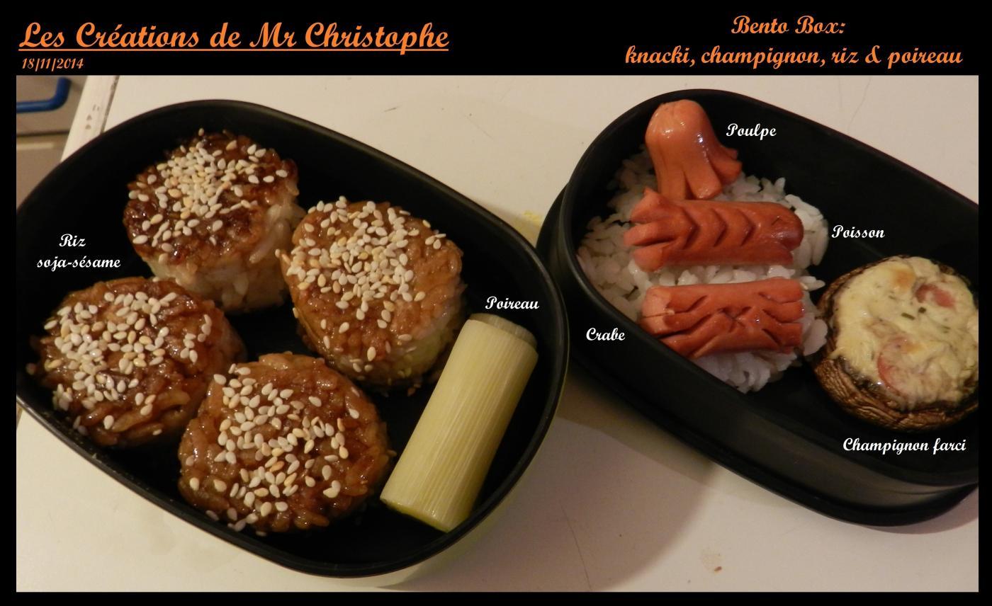 La bento box de Mr Christphe - Novembre 2014