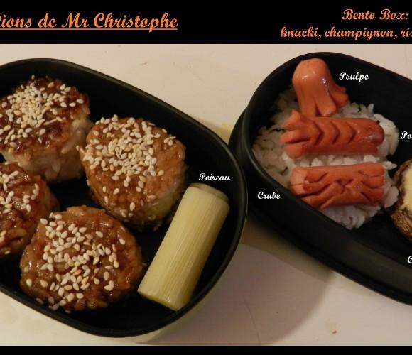 La bento box de Mr Christphe – Novembre 2014