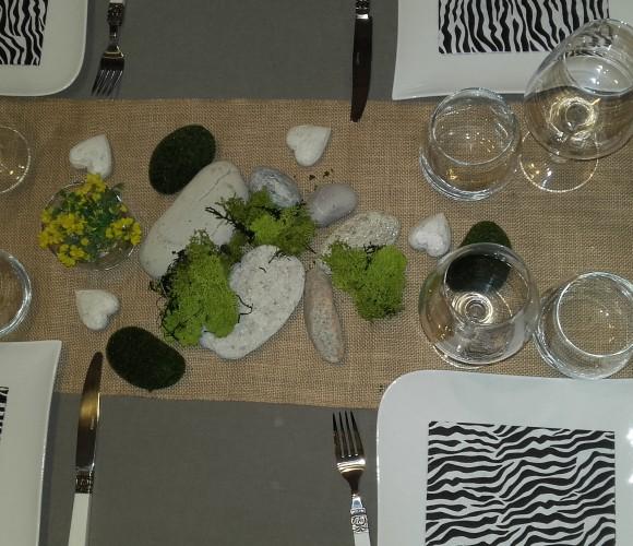 Une belle table pour mes amis !!