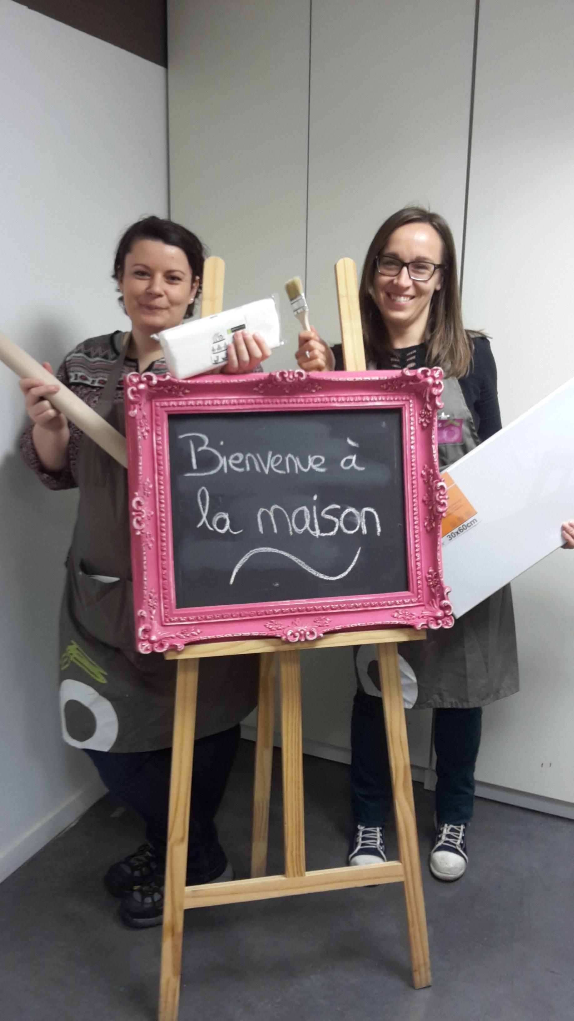 Les nouvelles habitantes de la maison rose chambourcy - Zodio chambourcy atelier cuisine ...