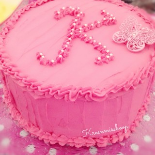 Cake Design façon Rainbow Cake pour une petite princesse