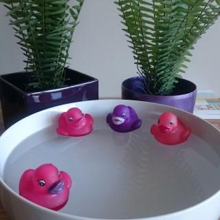 Vive la mare aux canards dans ma salle de bain !!!