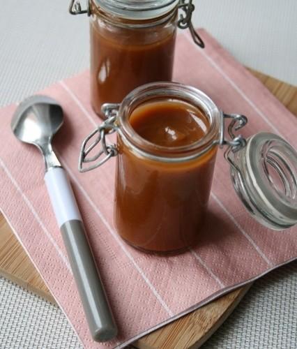 Caramel noix de coco «salé» Bio, sans oeufs, gluten, lait…..