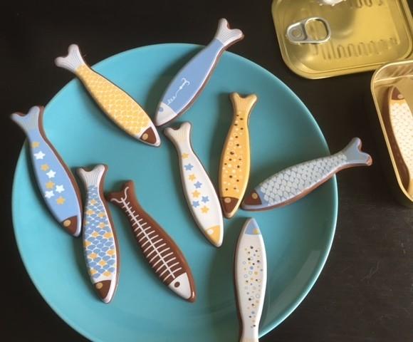 mes sardines en chocolat !!