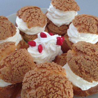 Couronne de choux chantilly