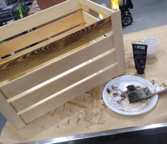PATINE – transformer du bois neuf en ancien