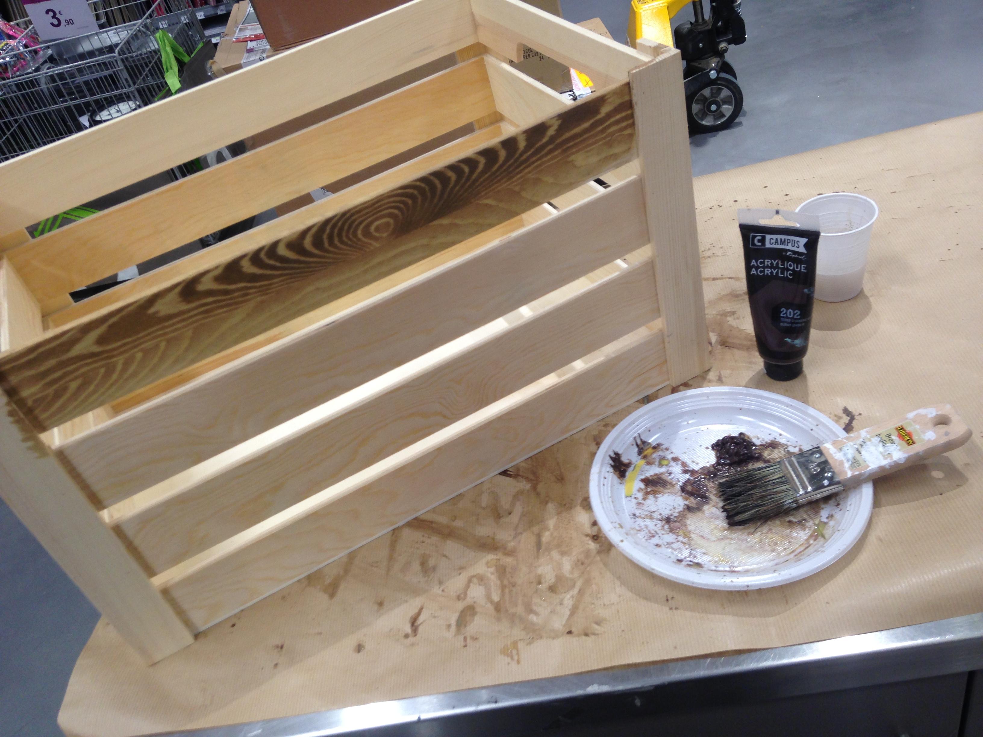 patine transformer du bois neuf en ancien blog z dio. Black Bedroom Furniture Sets. Home Design Ideas