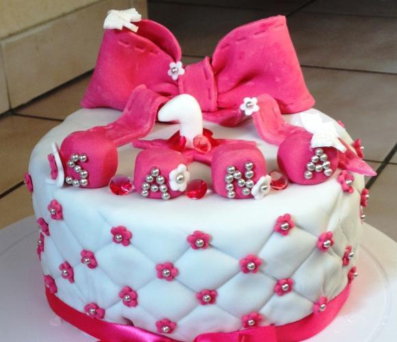 Gâteau girly