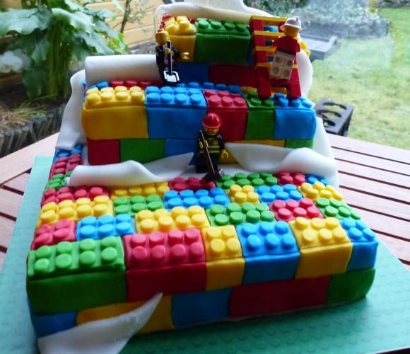 Mon gâteau lego