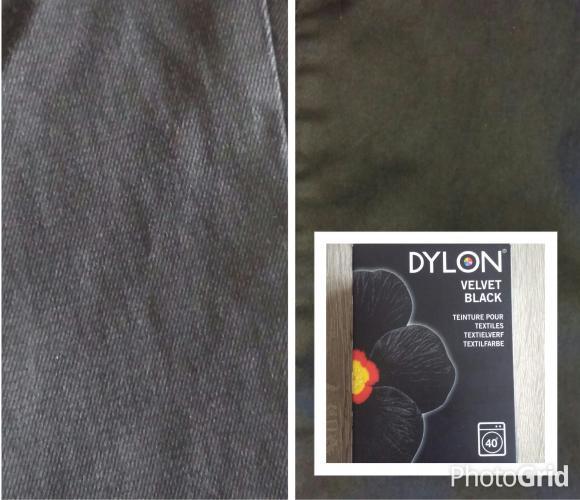 J'ai testé pour vous la teinture textile Dylon