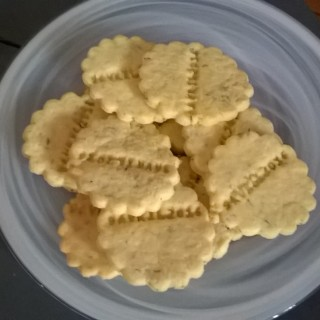 Biscuits au citron et thym