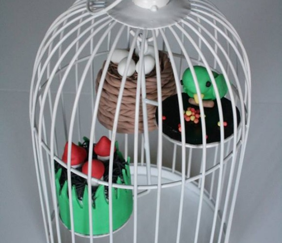 Petits gâteaux en cage !