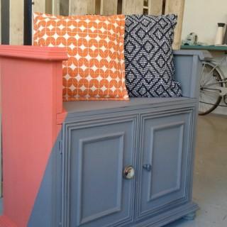 Le meuble du mois, ou comment transformer un meuble télé en fauteuil!