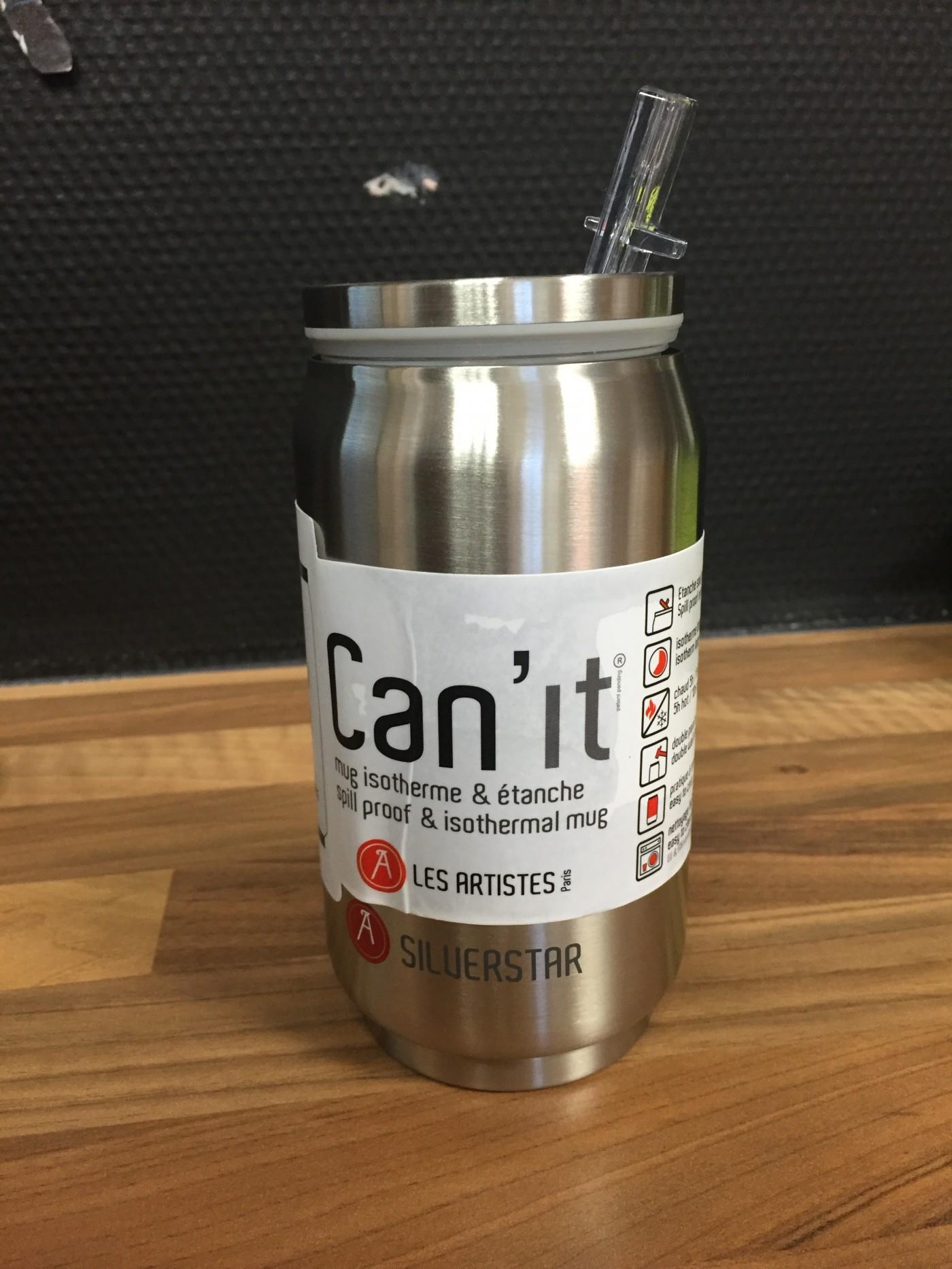 J'ai testé pour vous le mug isotherme & étanche Can'it 280ml