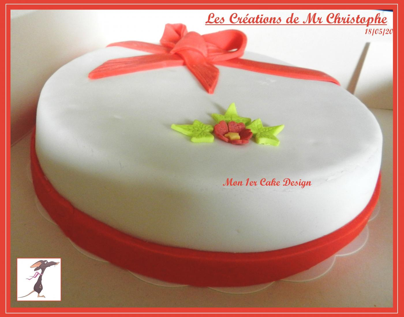 Le 1er Cake Design de Mr Christophe - Mai 2015