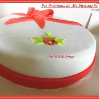 Le 1er Cake Design de Mr Christophe - Mai 2015