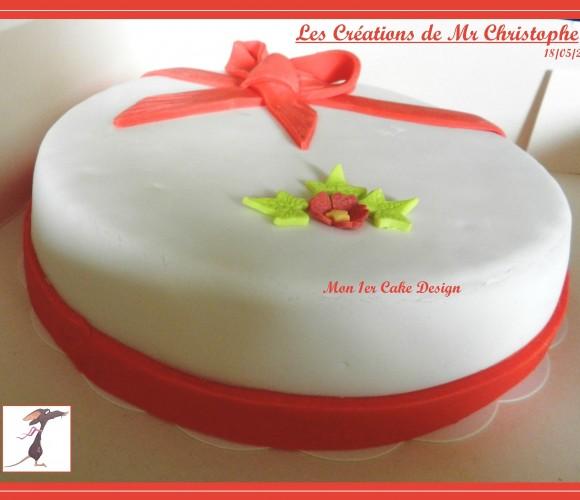 Le 1er Cake Design de Mr Christophe – Mai 2015