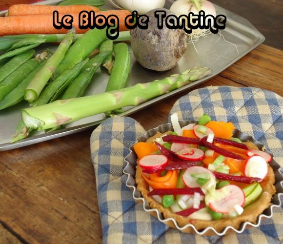 Tartelettes aux légumes de printemps