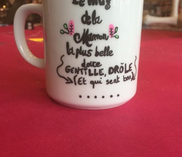 J'ai choisi pour maman un mug personnalisé !