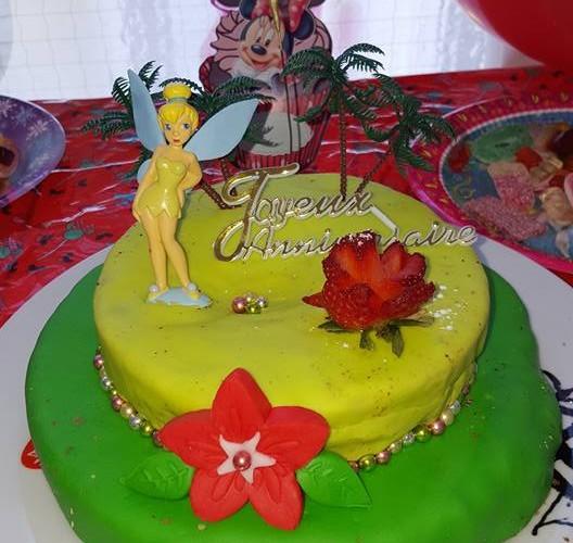 cake design fée clochette