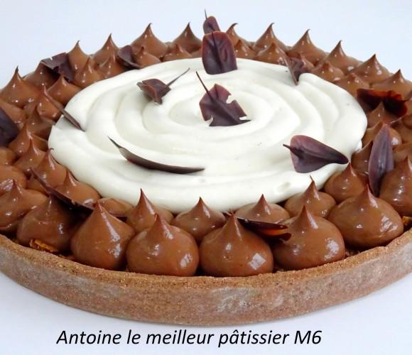 Ma tarte croustillante chocolat-tonka