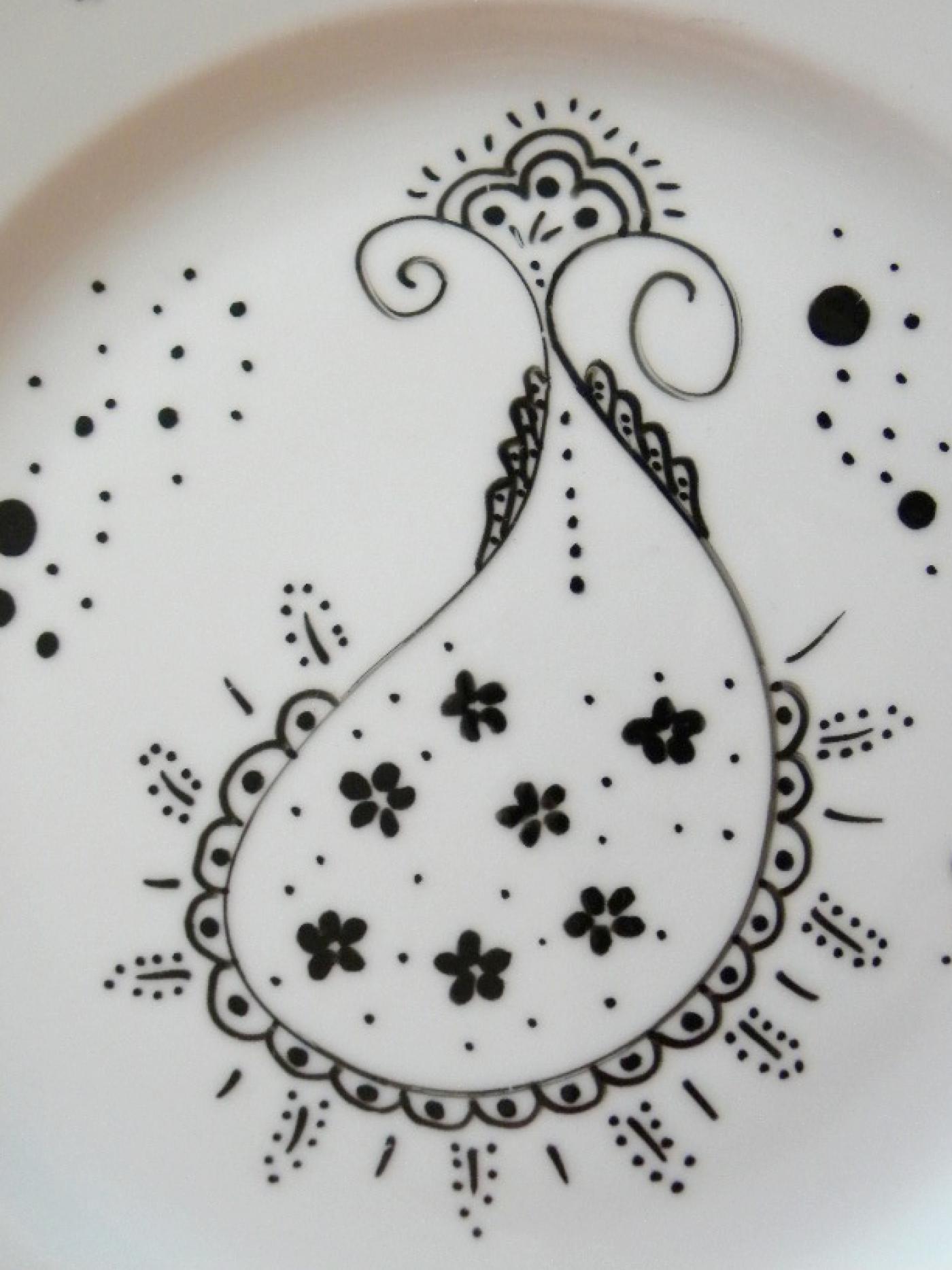 J'ai testé pour vous la peinture sur porcelaine