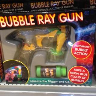 J'ai testé pour vous le Pistolet à rayon laser-bulles