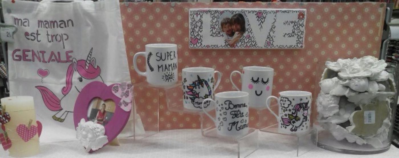 J'ai choisi pour Maman le mug personnalisé !!! <3