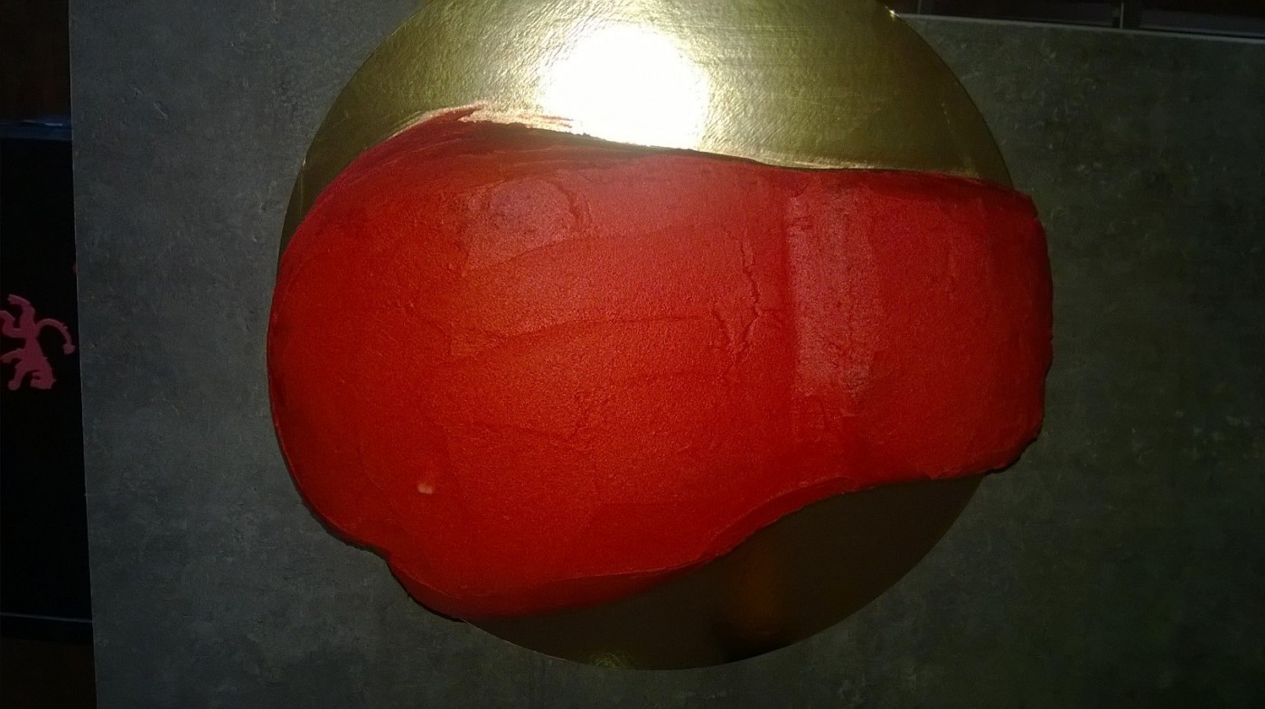 cake design gant de boxe z 244 dio