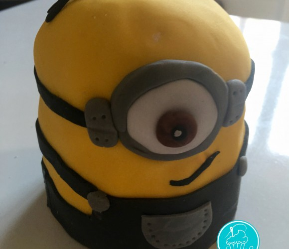 Mon minion cake design – tuto pas à pas