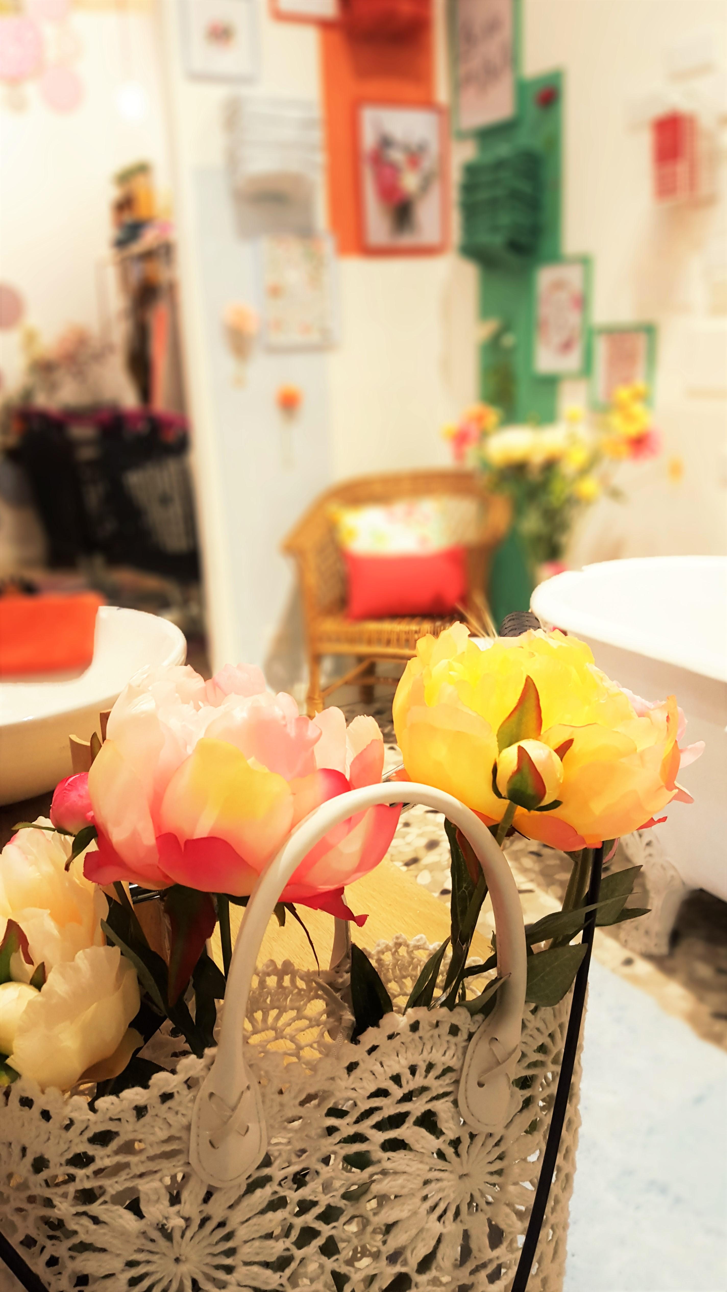 le d clic flower est dans votre maison rose. Black Bedroom Furniture Sets. Home Design Ideas