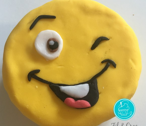 Mon smiley cake design – tuto pas à pas