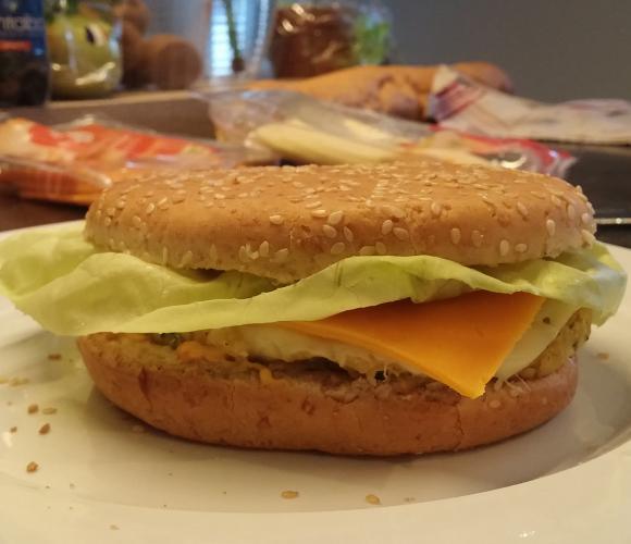 Le burger végétarien