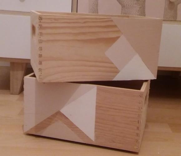 Customiser des caisses en bois