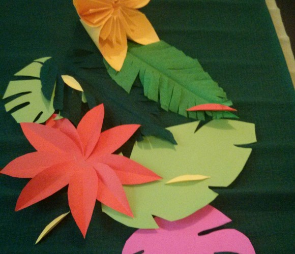 Créer un chemin de table en papier