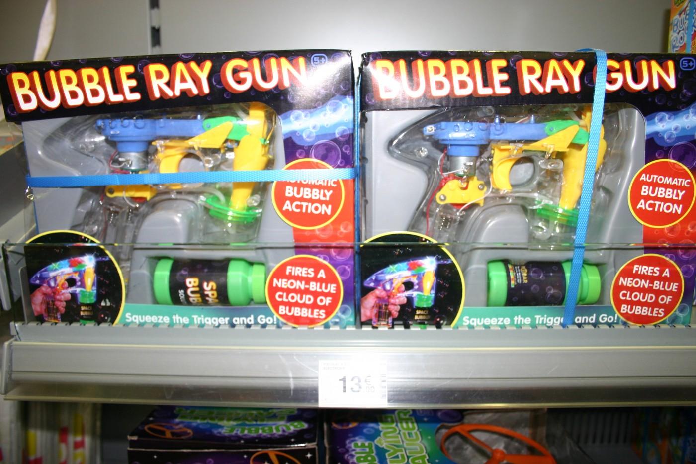 J'ai testé pour vous le Pistolet à bulles