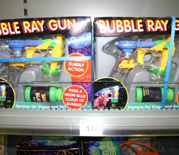 J'ai testé pour vous le Pistolet à bulles «Bubble Ray Gun»