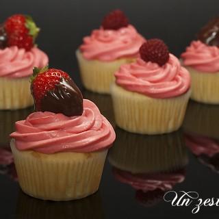 cupcake fraise
