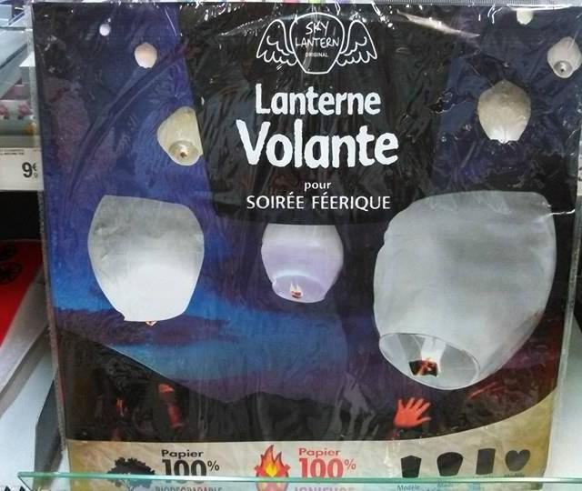 Oh une lanterne volante - Construire une lanterne volante ...