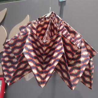 Suspension en origami