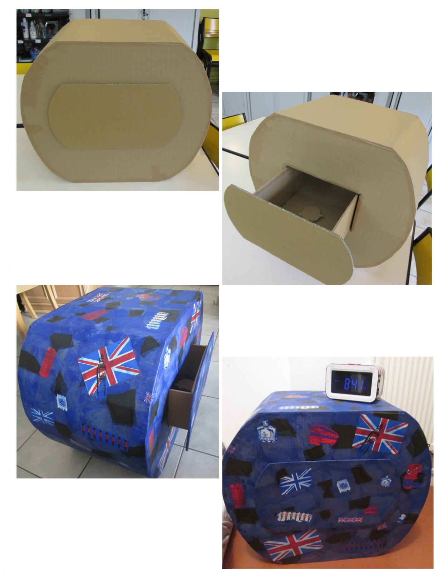 Image De Meuble En Carton petit meuble. en carton! (blog zôdio)