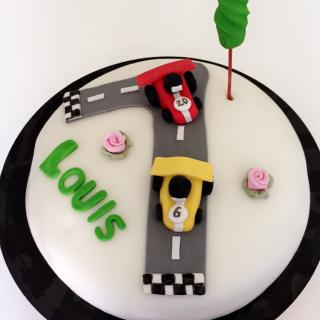 Gateau Circuit Automobile 1 An