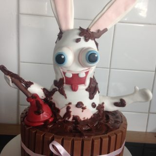 """Gâteau choc pour une soirée """"chic et choc"""""""